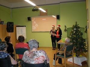 zahájení přednáškou na téma Vánoční tradice
